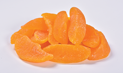 Preserved yellow Peaches