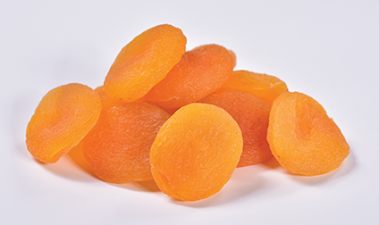 sulphured Turkish dried apricots